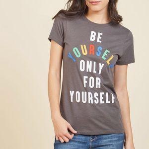 NWOT Let Off Some Self-Esteem Cotton T-Shirt